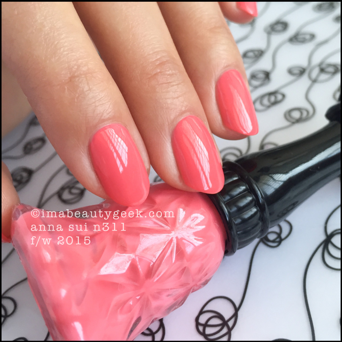 Anna Sui Nail Polish N311_Anna Sui Nail Color 2015
