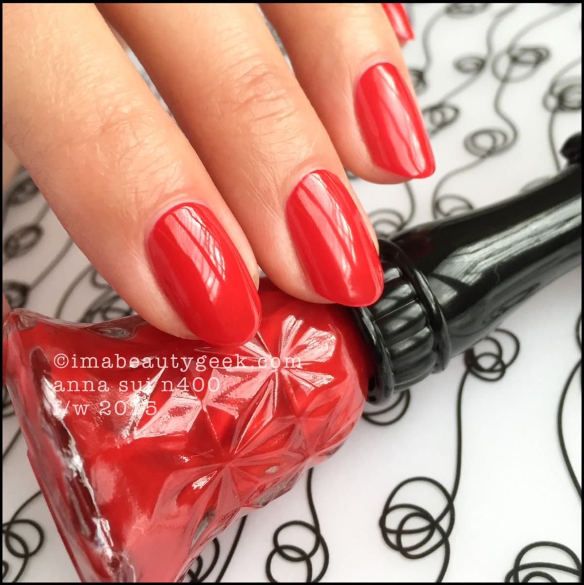 Anna Sui Nail Polish N400_Anna Sui Nail Color 2015