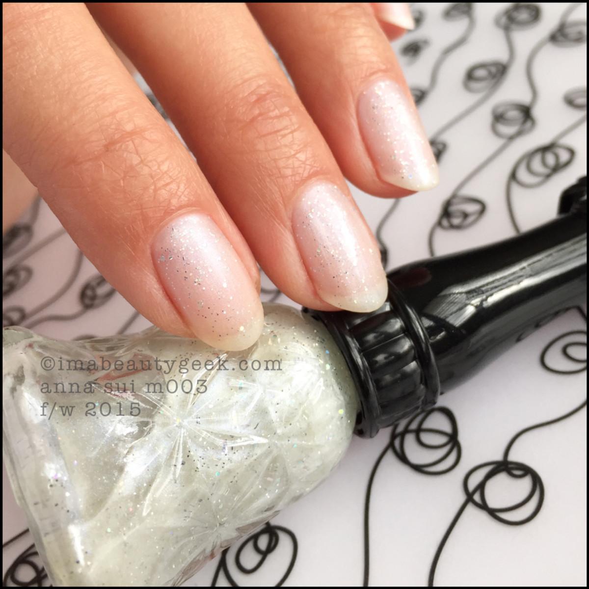 Anna Sui Nail Polish M003_Anna Sui Nail Color 2015
