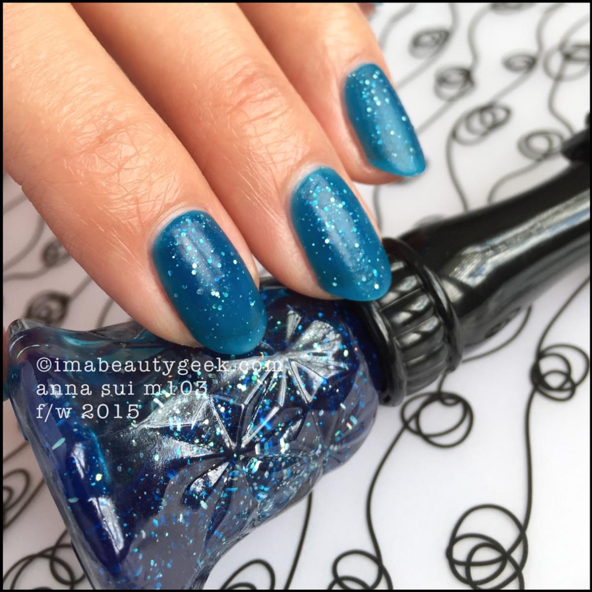 Anna Sui Nail Polish M103_Anna Sui Nail Color 2015