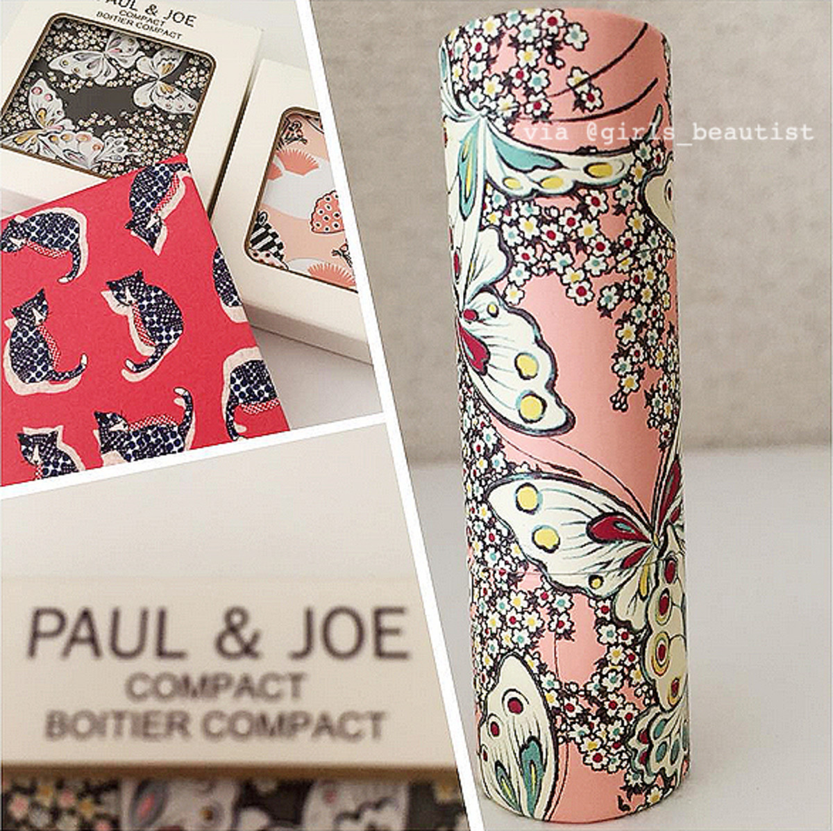 Paul & Joe Spring 2016 Papillons de Printemps patterns