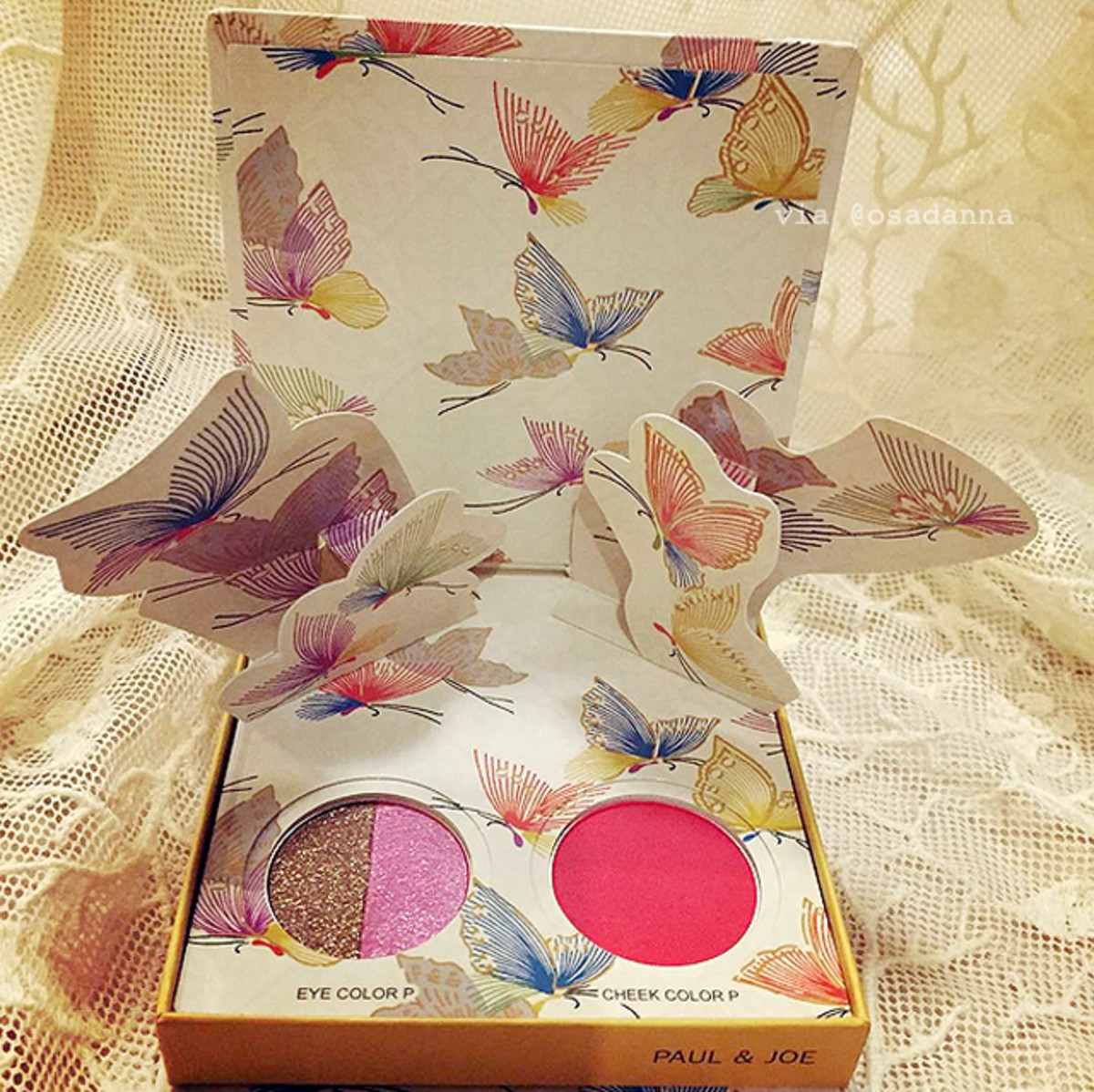 Paul & Joe Beauté Spring 2016 sneak peek Papillons de Printemps