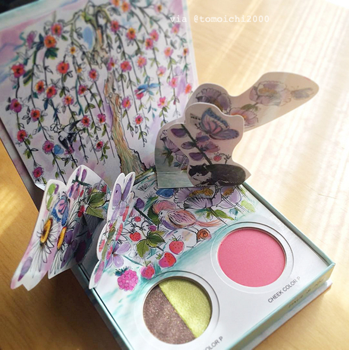 Paul & Joe Beauté Spring 2016 Papillons de Printemps #2