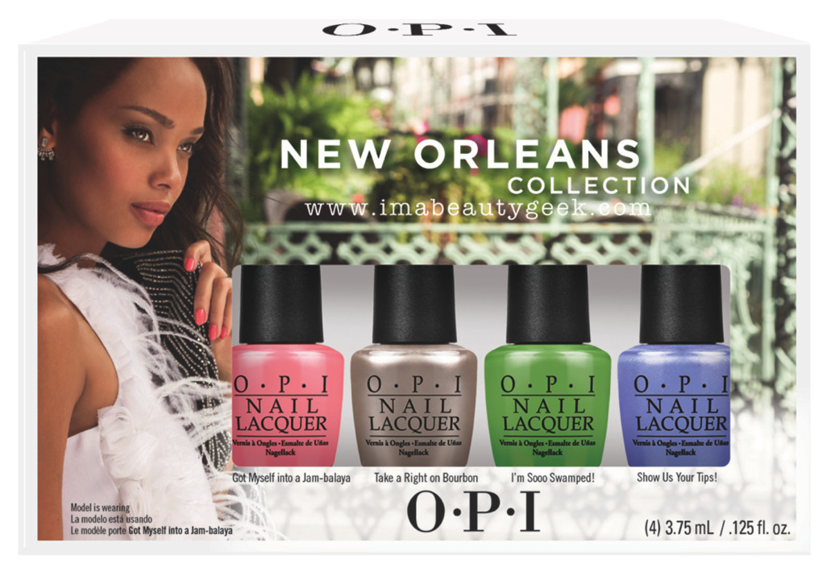 OPI New Orleans Mini Set Beautygeeks