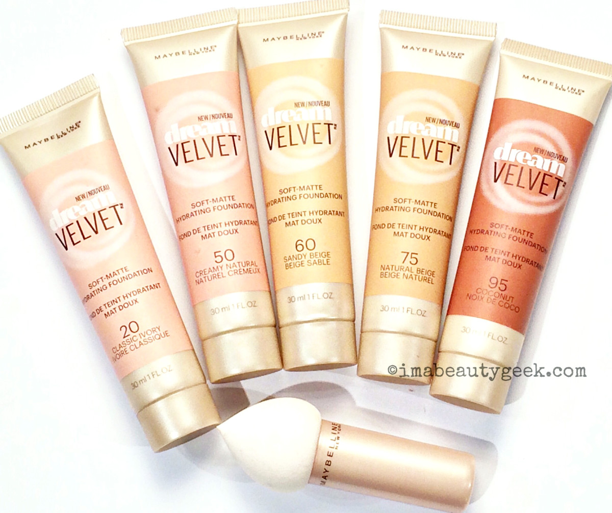 Sneak peek: Maybelline Dream Velvet Soft-Matte Hydrating Foundation and applicator
