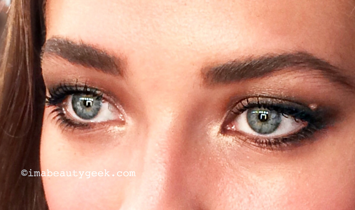 luxurious smoky eyes with Maybelline