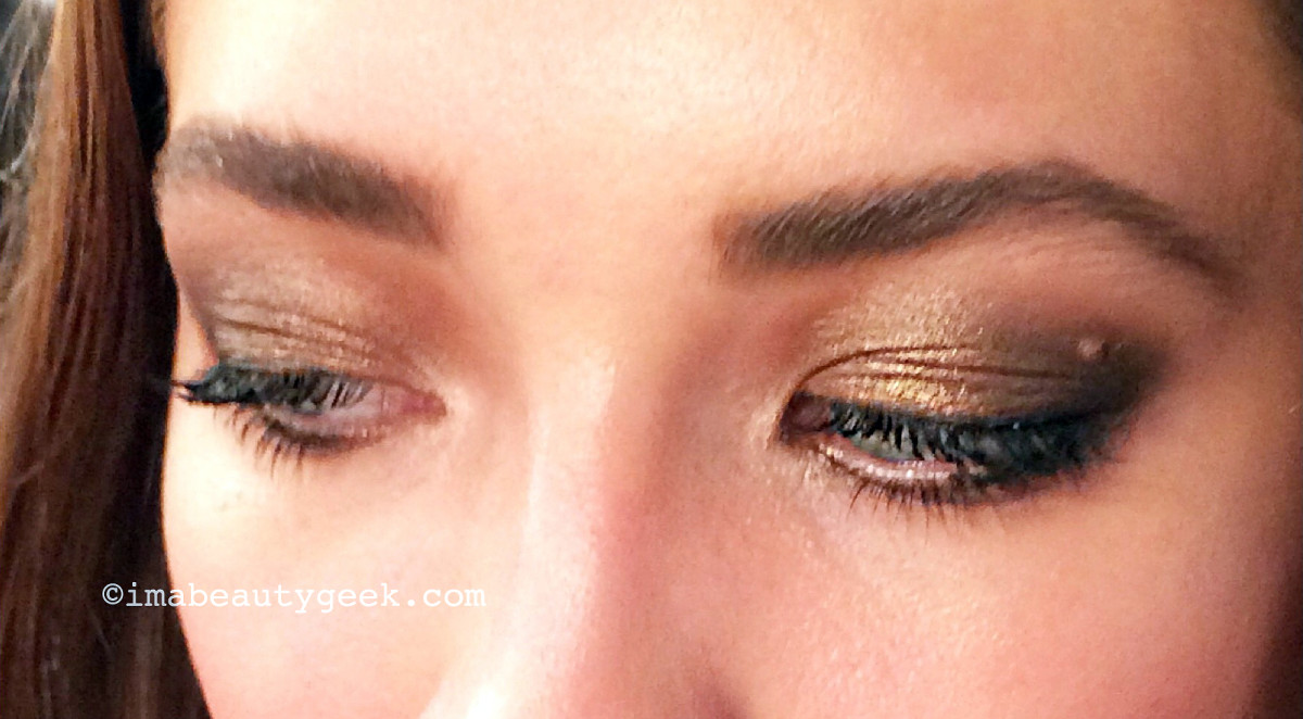 expensive-looking smoky eyes with Maybelline