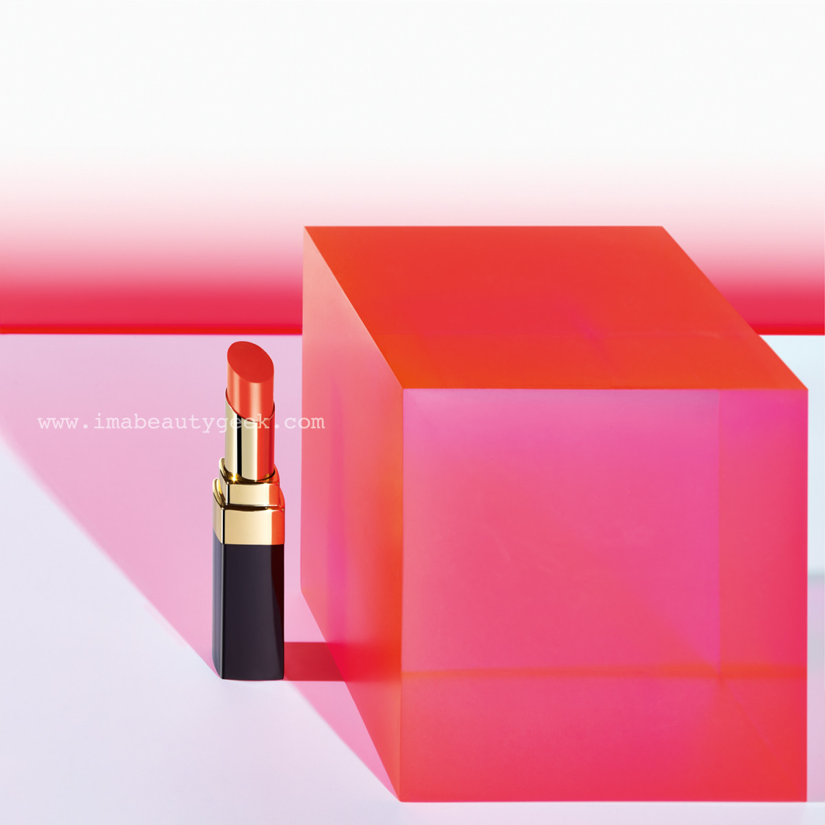 Chanel Spring 2015 LA Sunrise collection: Rouge Coco Shine in Shipshape