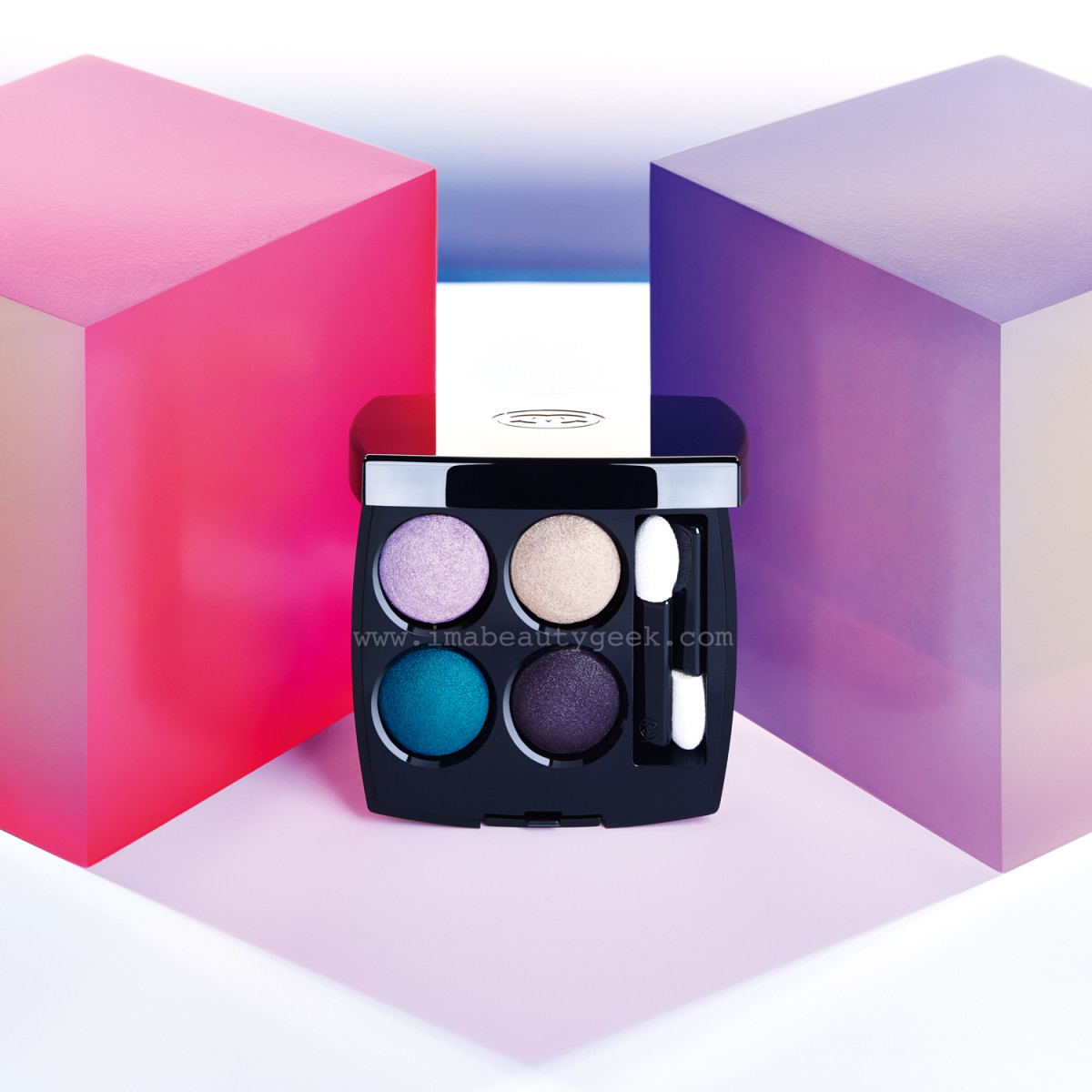 Chanel Spring 2015 LA Sunrise Collection: Les 4 Ombre eyeshadow quad in Beverly Hills