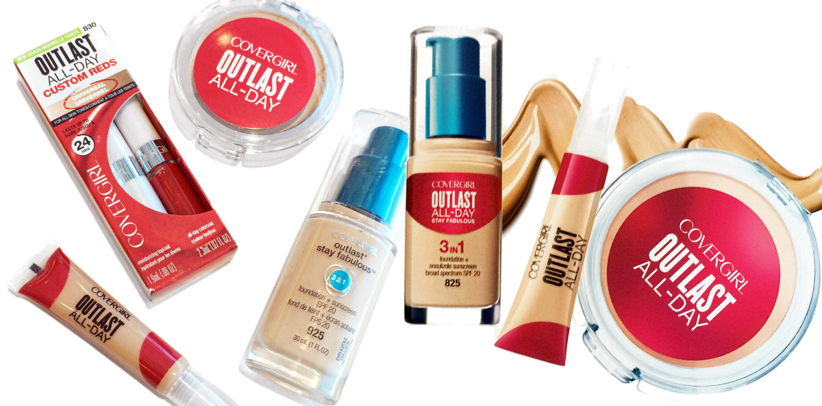 The Covergirl Outlast range has a new look and an updated All-Day name.