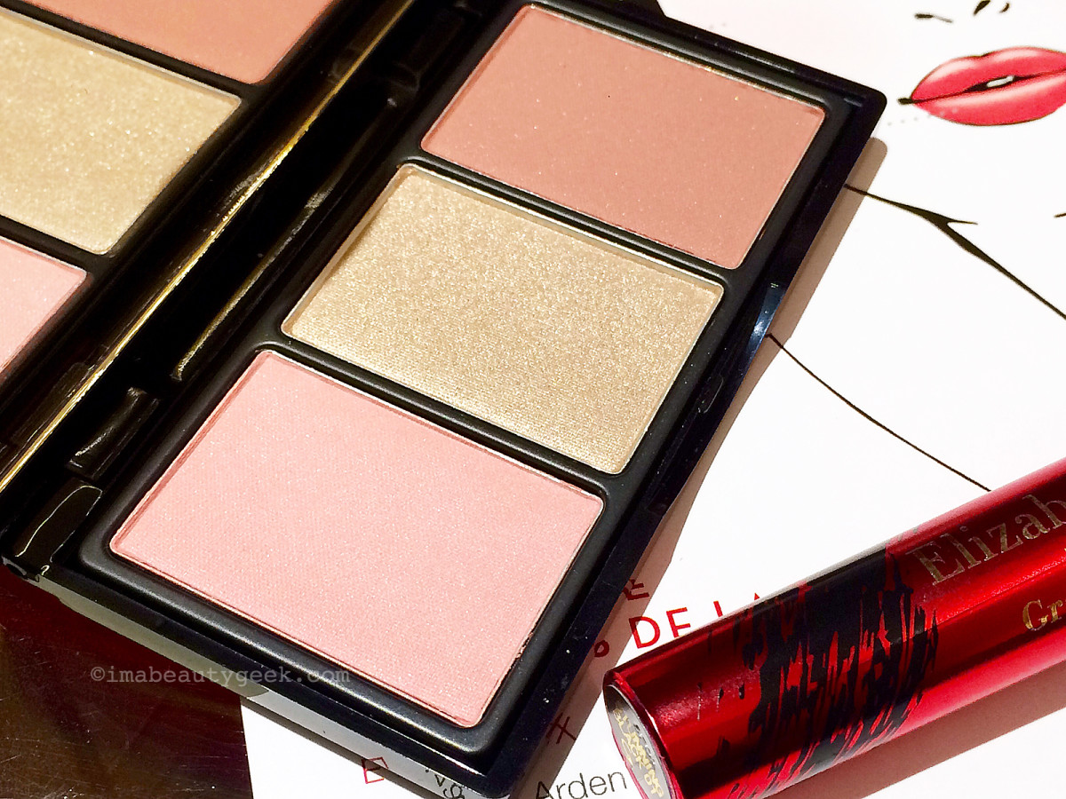 Elizabeth Arden Bright Lights, Big City cheek palette close-up