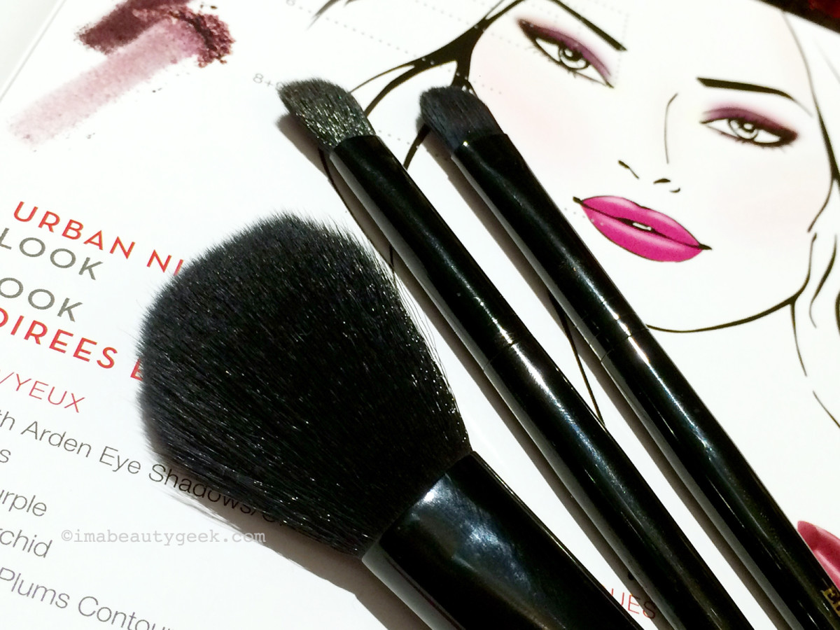 Elizabeth Arden Bright Lights, Big City collection brushes