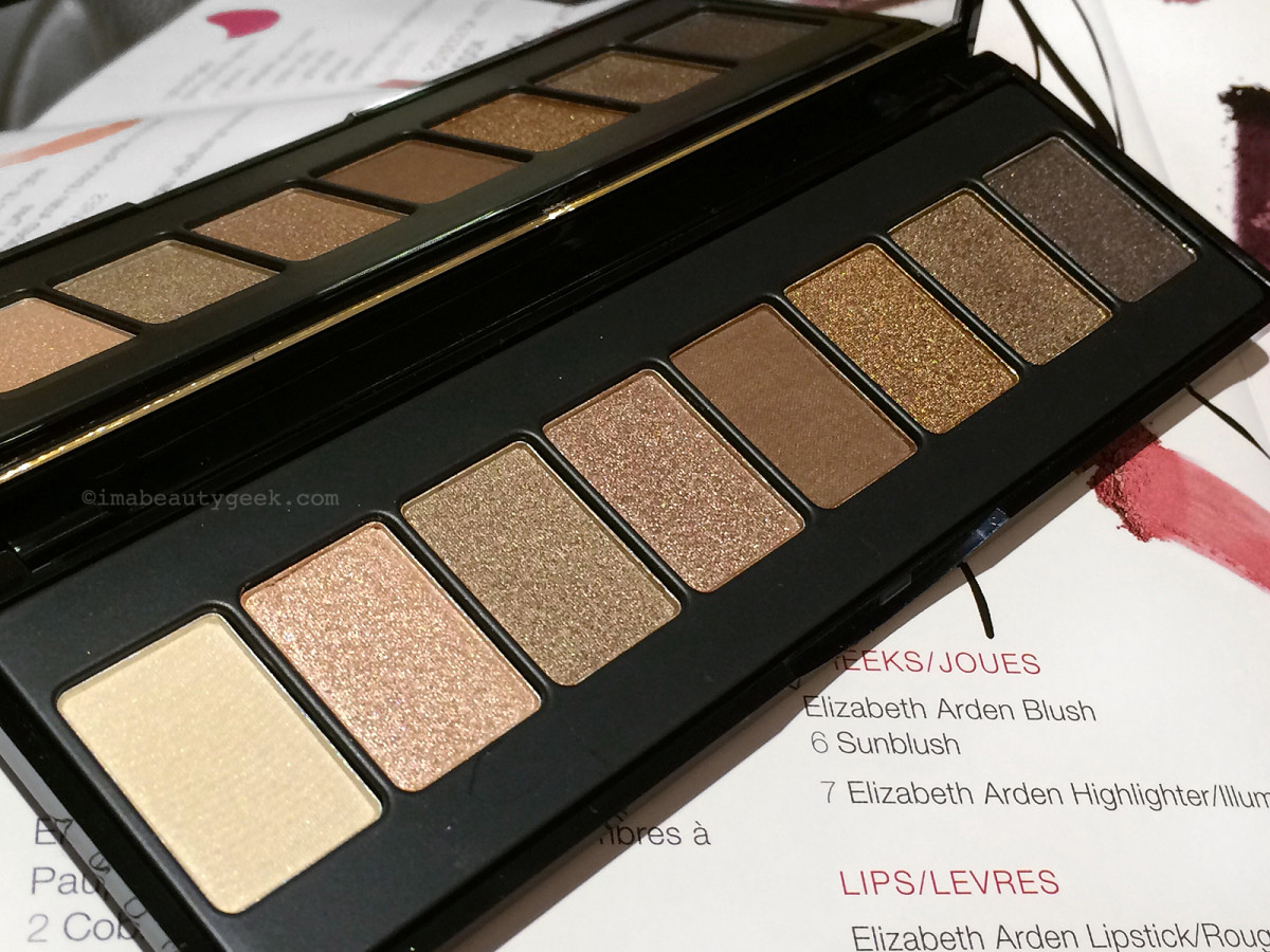 Elizabeth Arden Bright Lights, Big City collection City Lights Nude eyeshadow palette