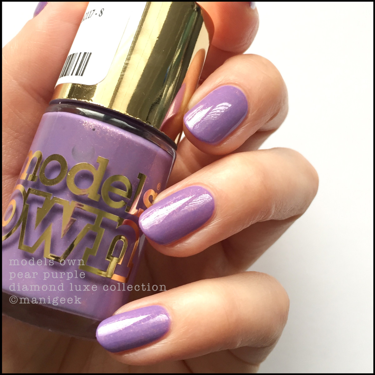 Models Own Pear Purple Swatches Review_Diamond Luxe Collection 2014