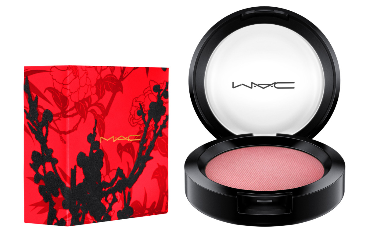 MAC Year of the Rooster powder blush in Fleur Power