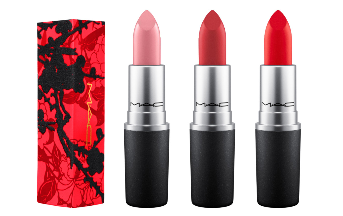 MAC Year of the Rooster lipsticks