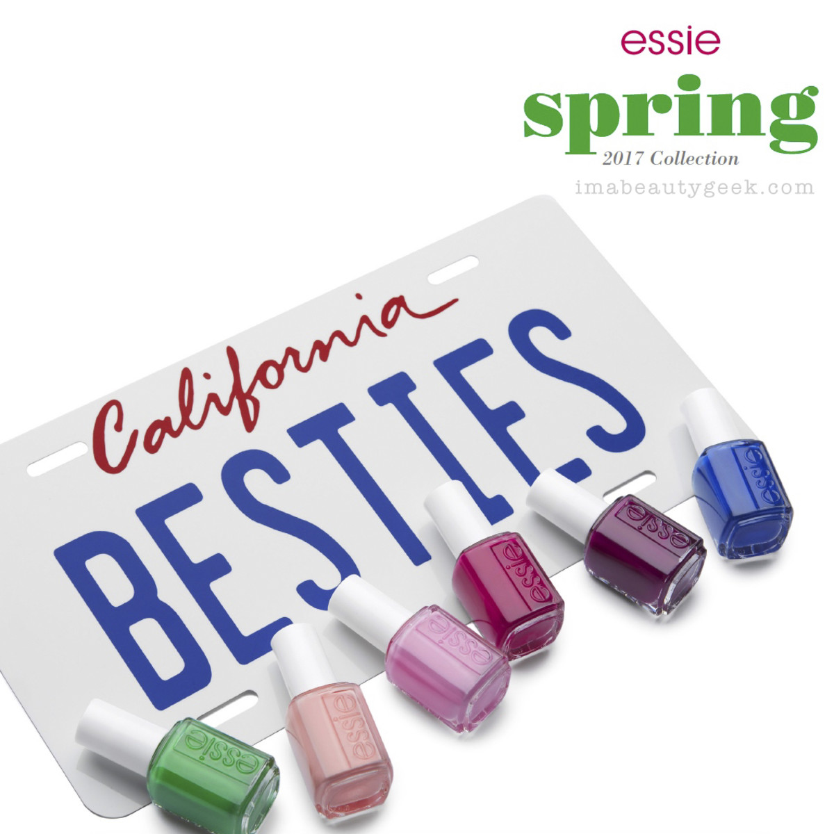 Essie Spring 2017 Swatches Review Comparisons Dupes
