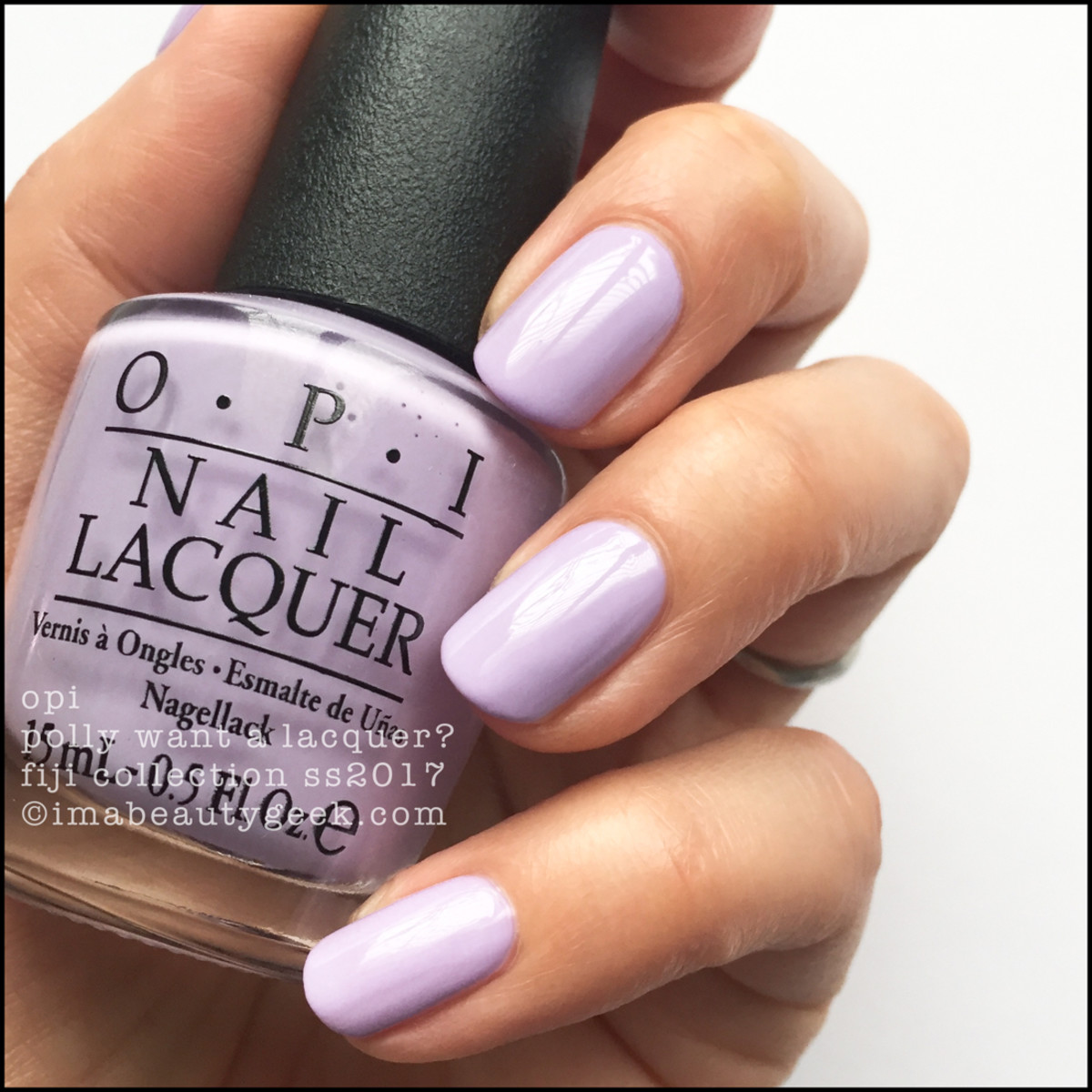 OPI Polly Want a Lacquer_OPI Fiji Collection Swatches Review 2017