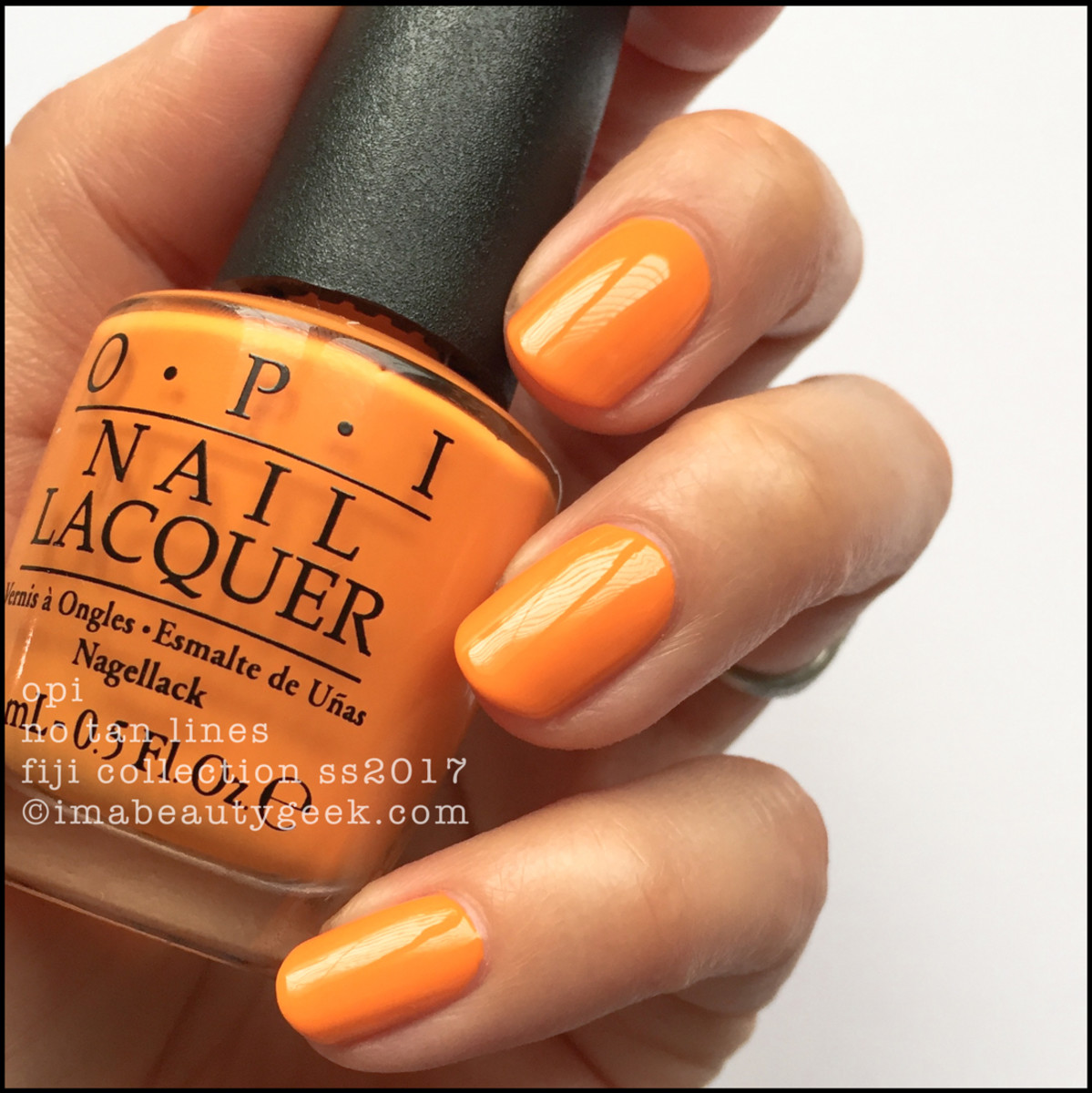 OPI No Tan Lines_OPI Fiji Collection Swatches Review 2017