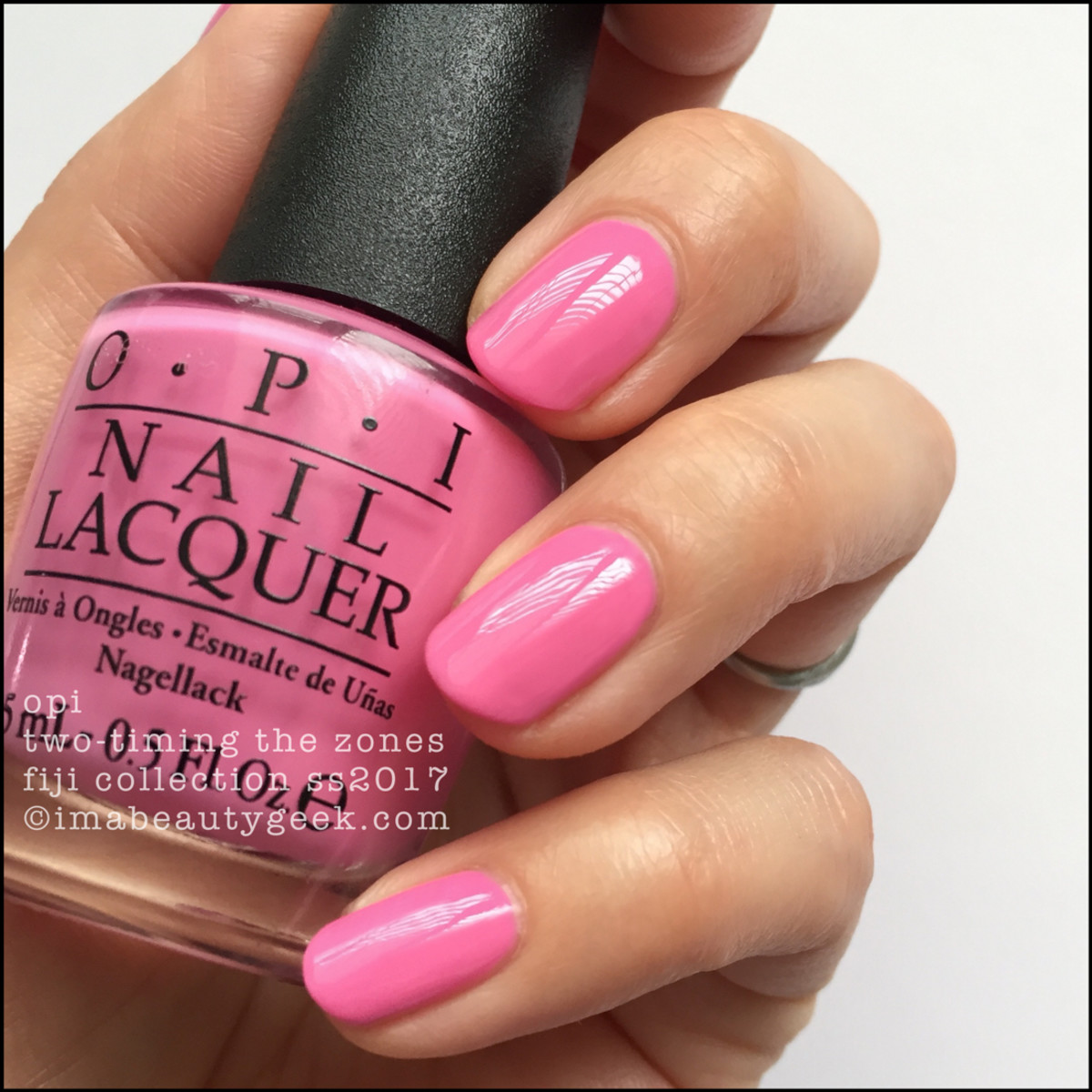 OPI Two-Timing The Zones_OPI Fiji Collection Swatches Review