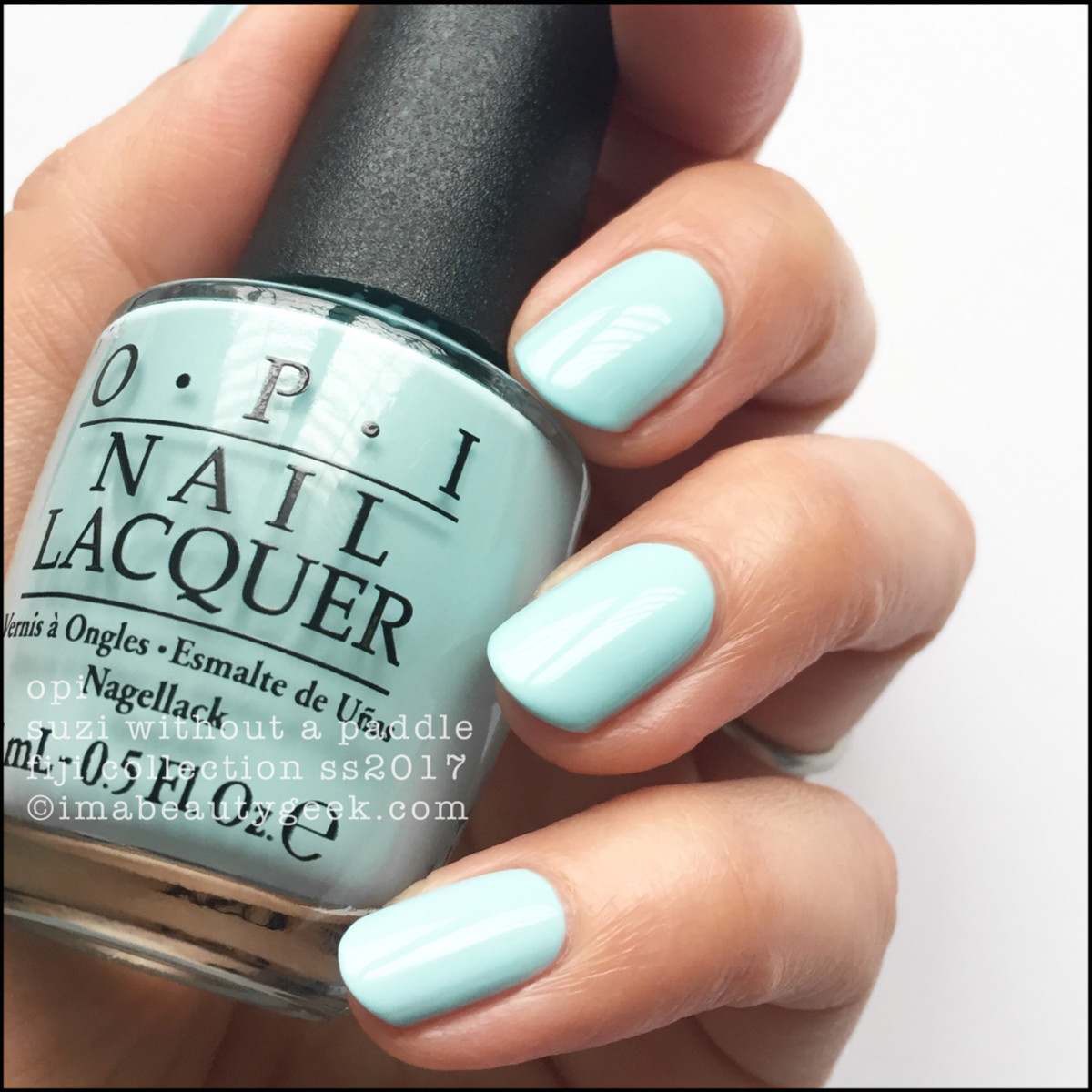 OPI FIJI COLLECTION SWATCHES REVIEW SS2017 - Beautygeeks