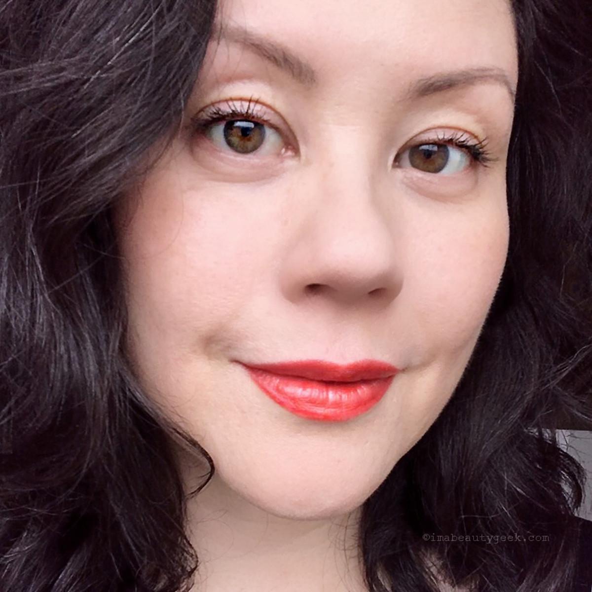 Guerlain Rouge G lipstick in 28 Genna