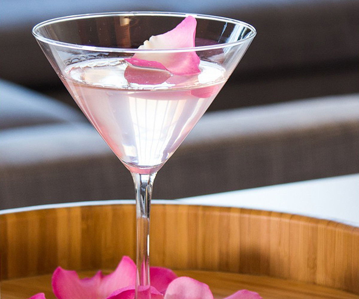 Rose scents we love for Valentine's Day includes a rose & lychee martini