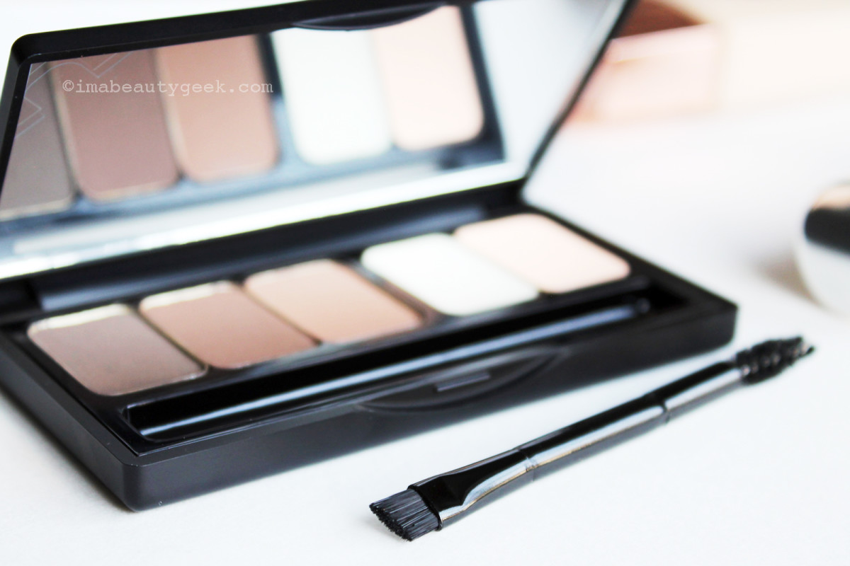 Make Up For Ever Pro Sculpting Brow Palette (it has an amazing brush)