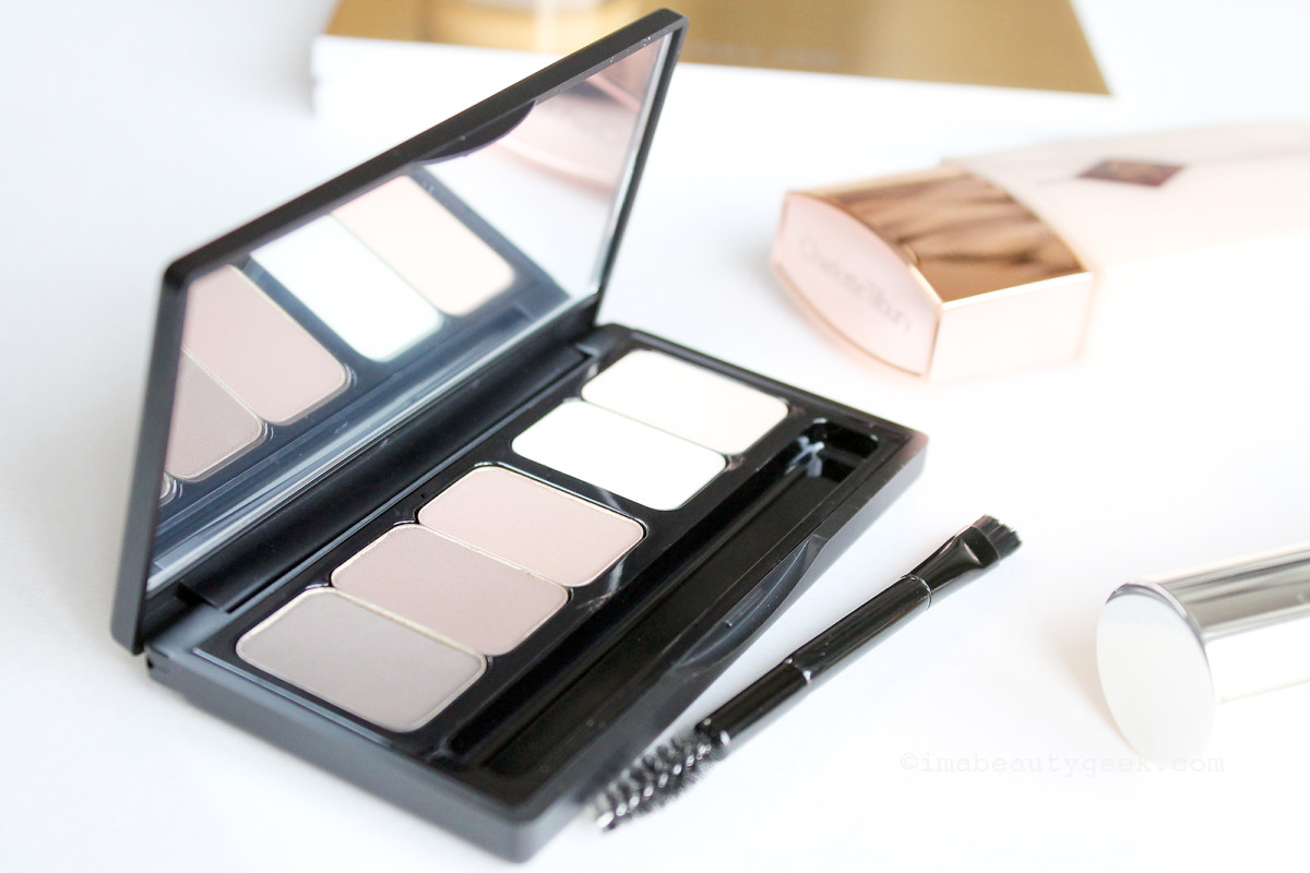 Make Up For Ever Pro Sculpting Brow Palette (brush has brilliantly stiff bristles)
