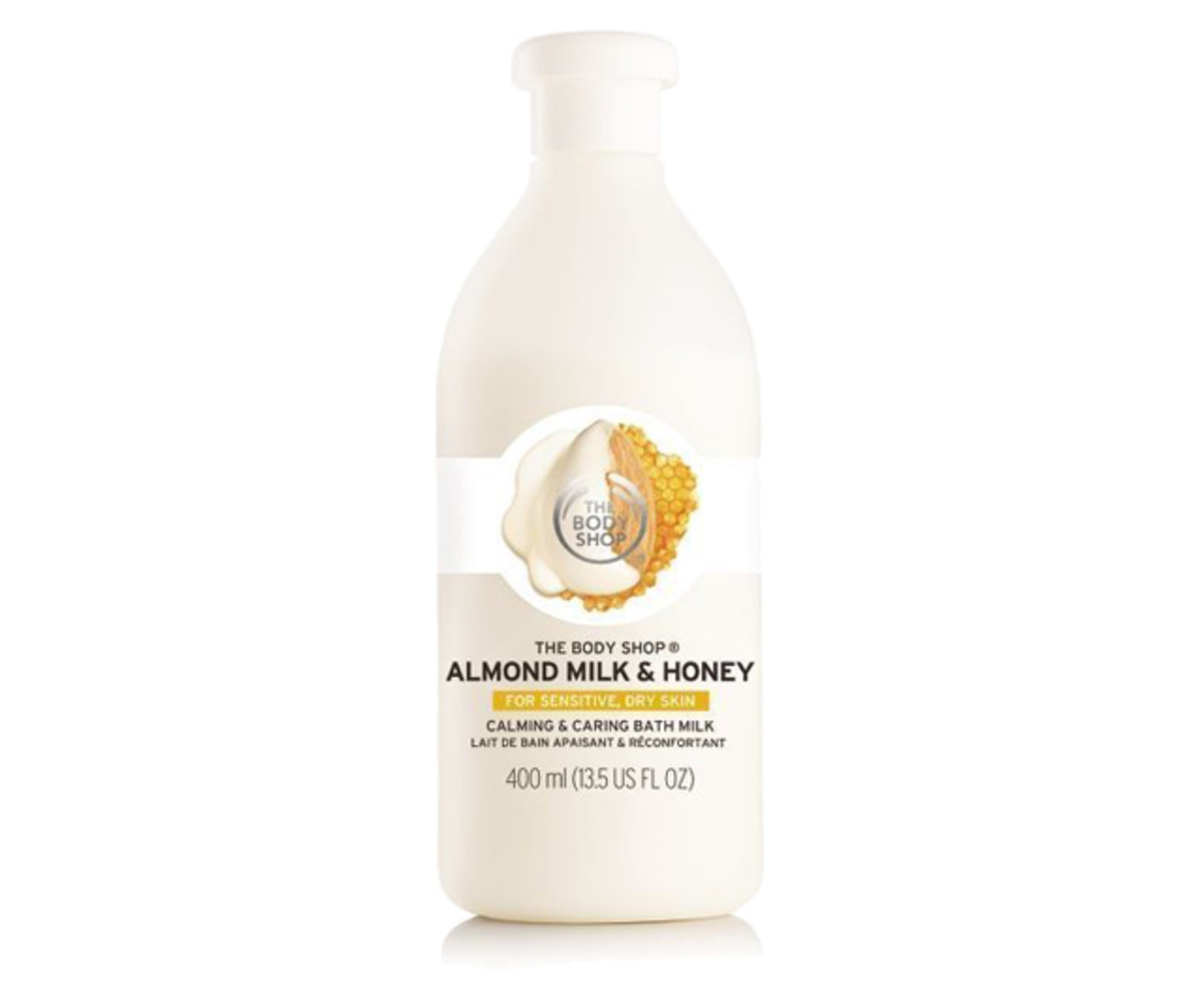 The Body Shop Almond Milk & Honey Bath Milk