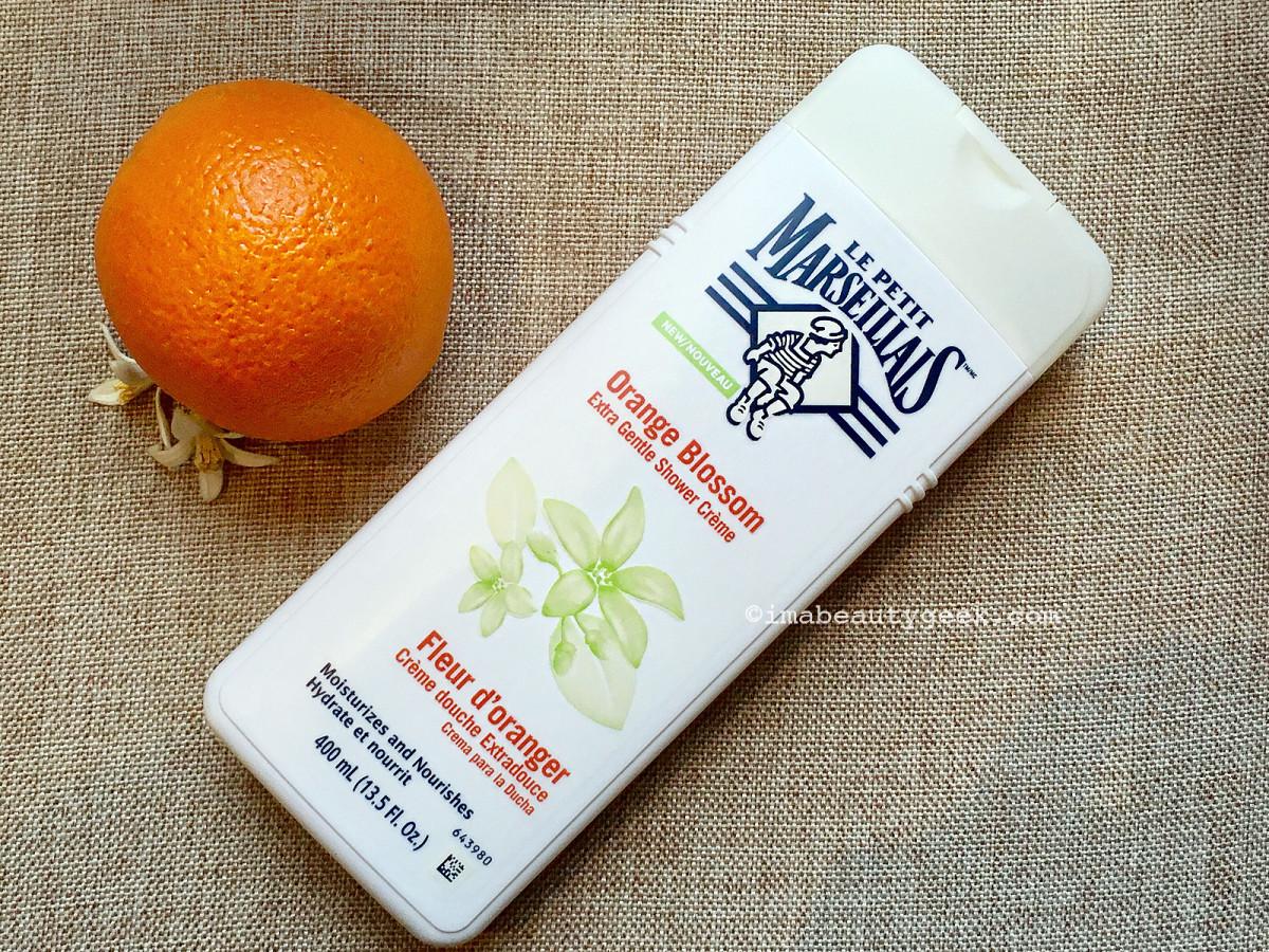 Le Petit Marseillais Orange Blossom Extra Gentle Shower Crème