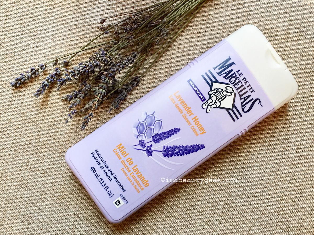 Le Petit Marseillais Lavender Honey Extra Gentle Shower Crème