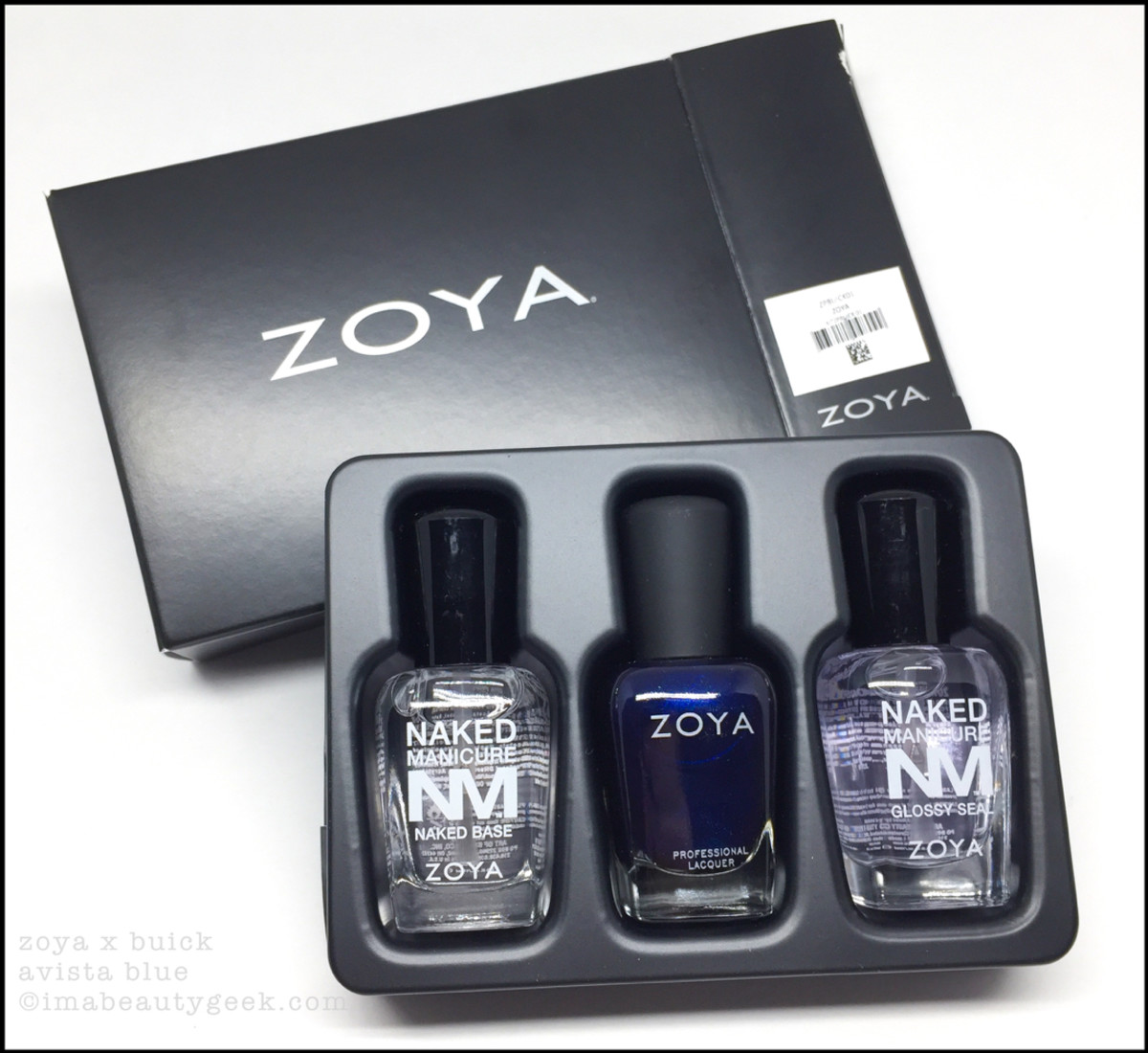 Zoya Giveaway Avista Blue Nail Polish x Buick