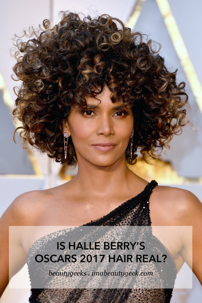 Halle Berry's Oscars 2017 curls – are they all hers?
