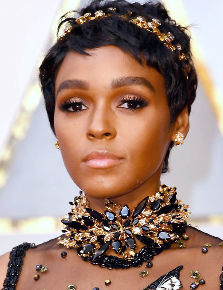 Janelle Monae S Oscars 2017 Makeup