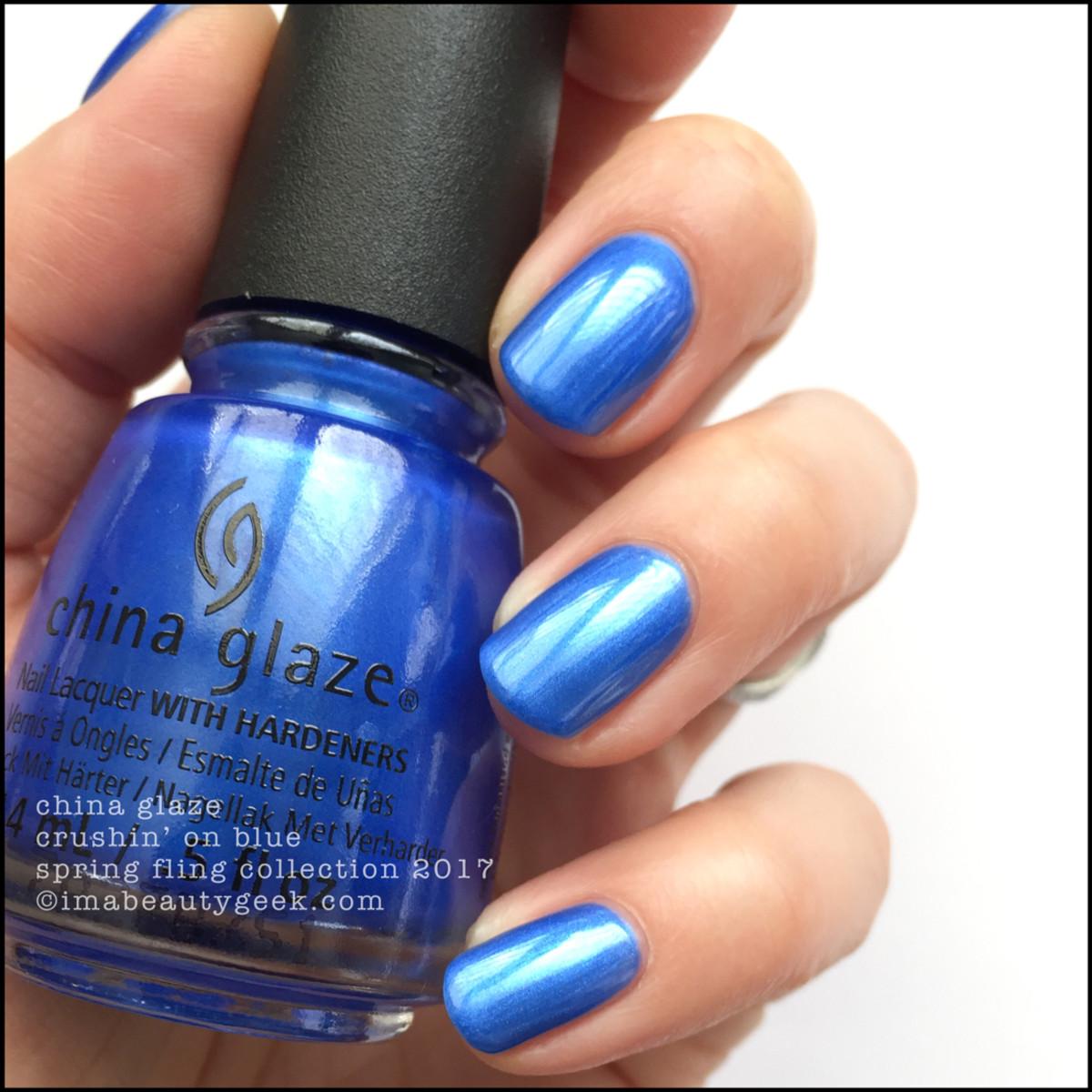 China Glaze Spring Fling 2017_China Glaze Crushin on Blue 1