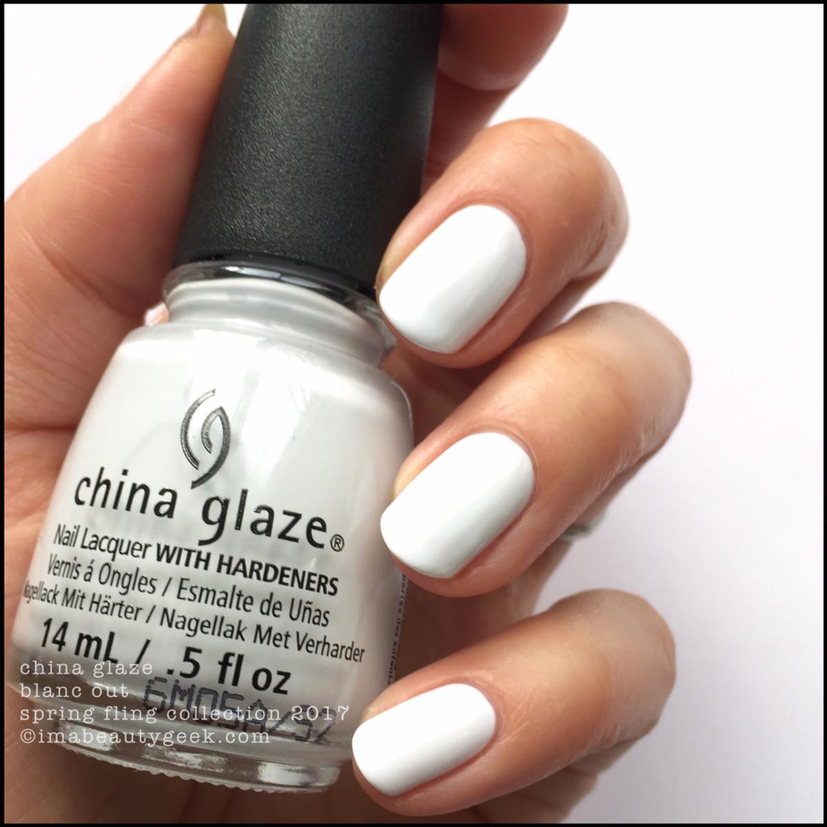 China Glaze Spring Fling 2017_China Glaze Blanc Out