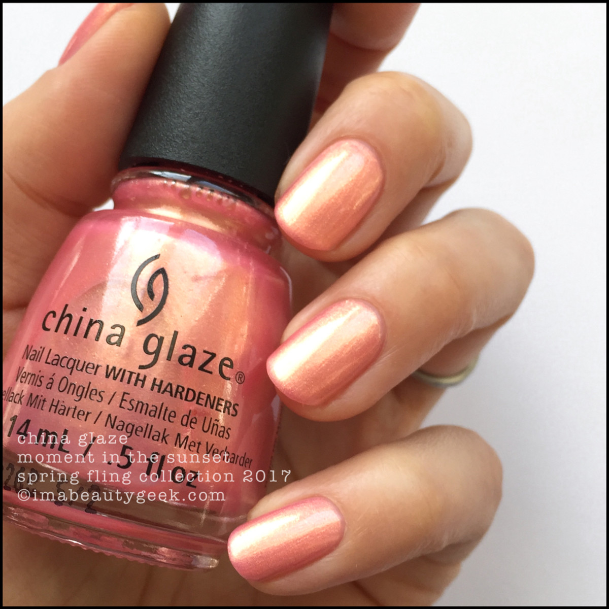China Glaze Spring Fling_China Glaze Moment in the Sun