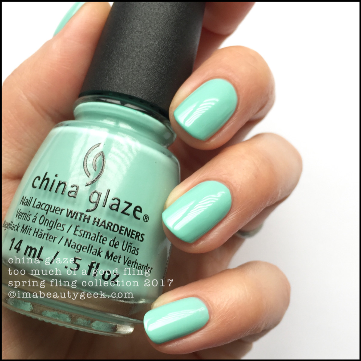 China Glaze Too Much of a Good Fling_China Glaze Spring Fling Collection Swatches