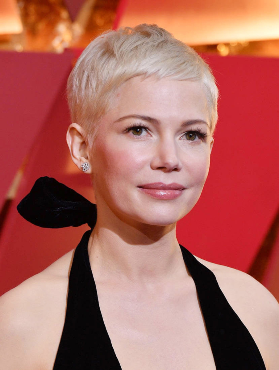 Celebrity pixie cuts women