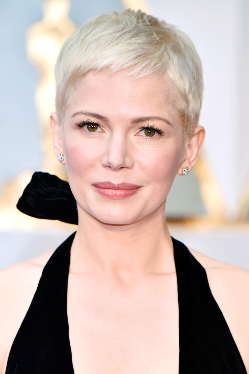Michelle Williams at the 2017 Oscars