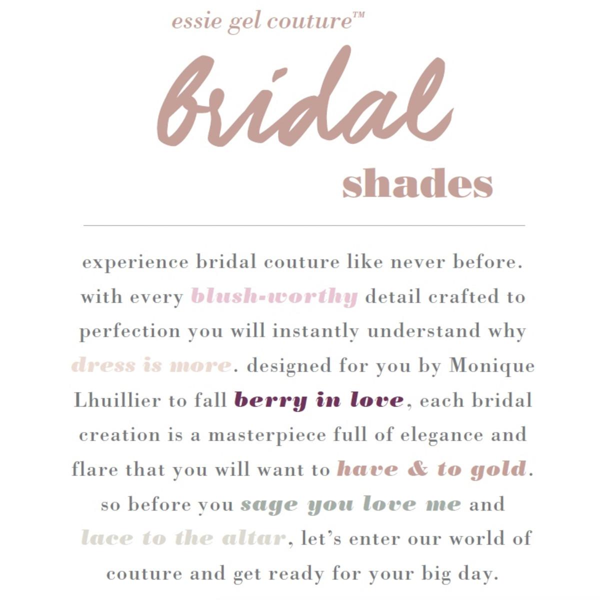 Essie Bridal 2017 (image: essie.ca)