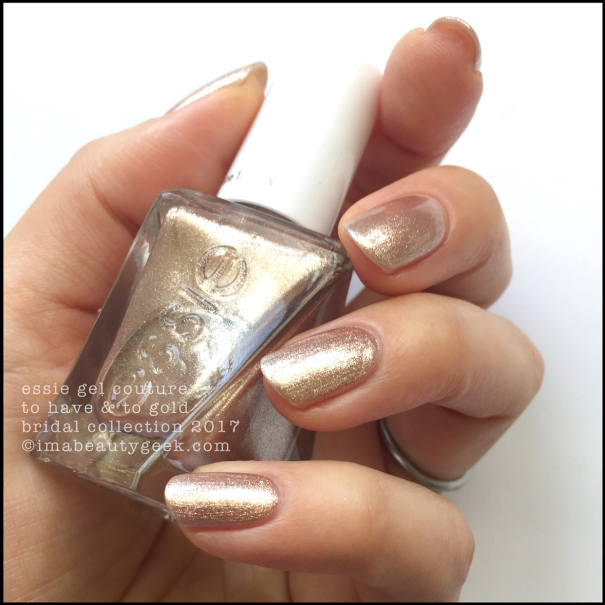 Essie Bridal 2017_Essie To Have and To Gold