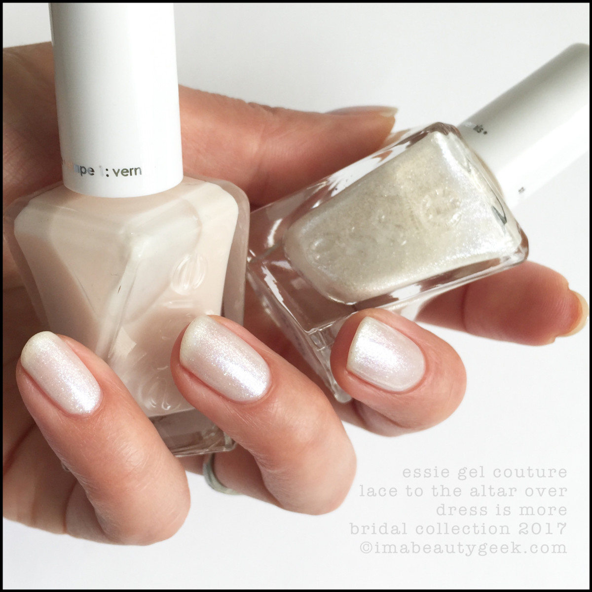 Essie Bridal 2017_Essie Lace to the Altar over Dress is More