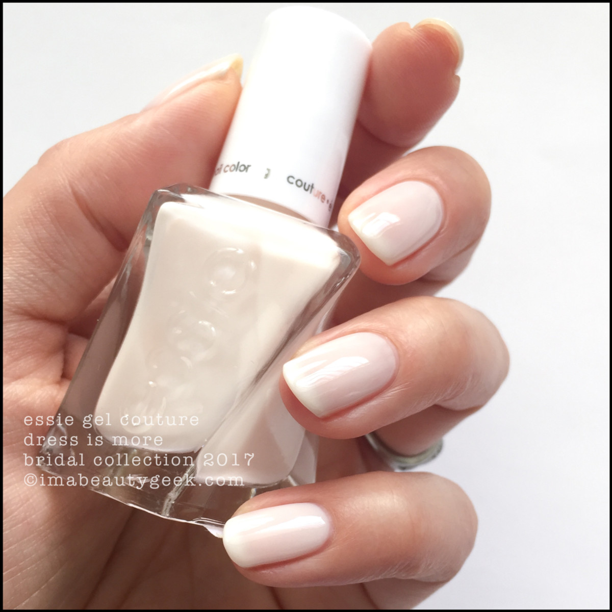 Essie Bridal 2017_Essie Dress Is More