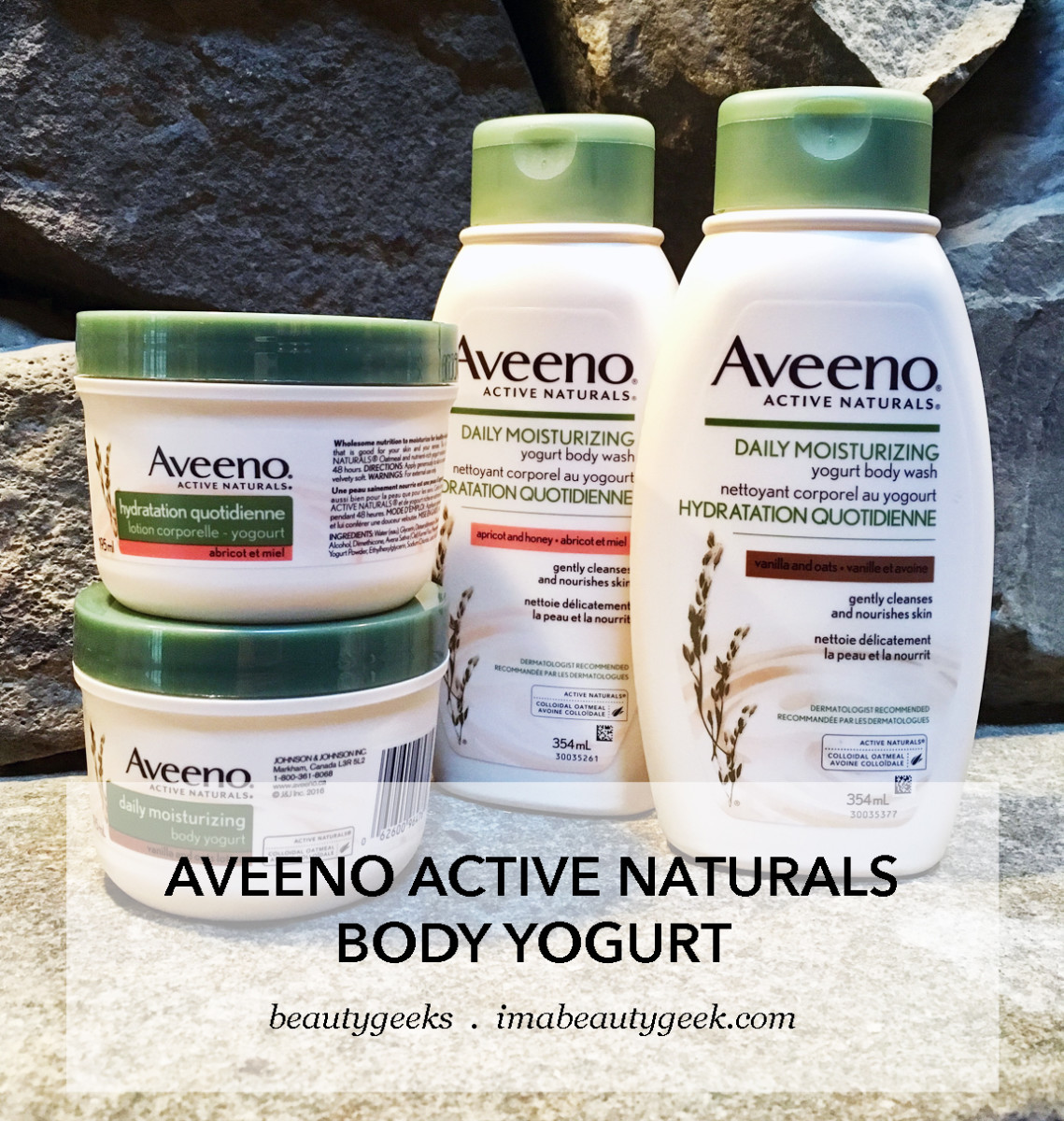 Aveeno Body Yogurt washes and lotions: check out the science behind the formula claims