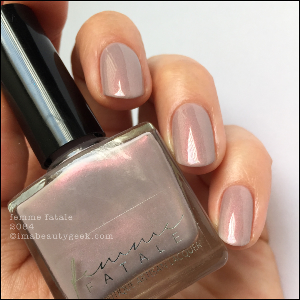 Femme Fatale 2084 Nail Polish with Top Coat