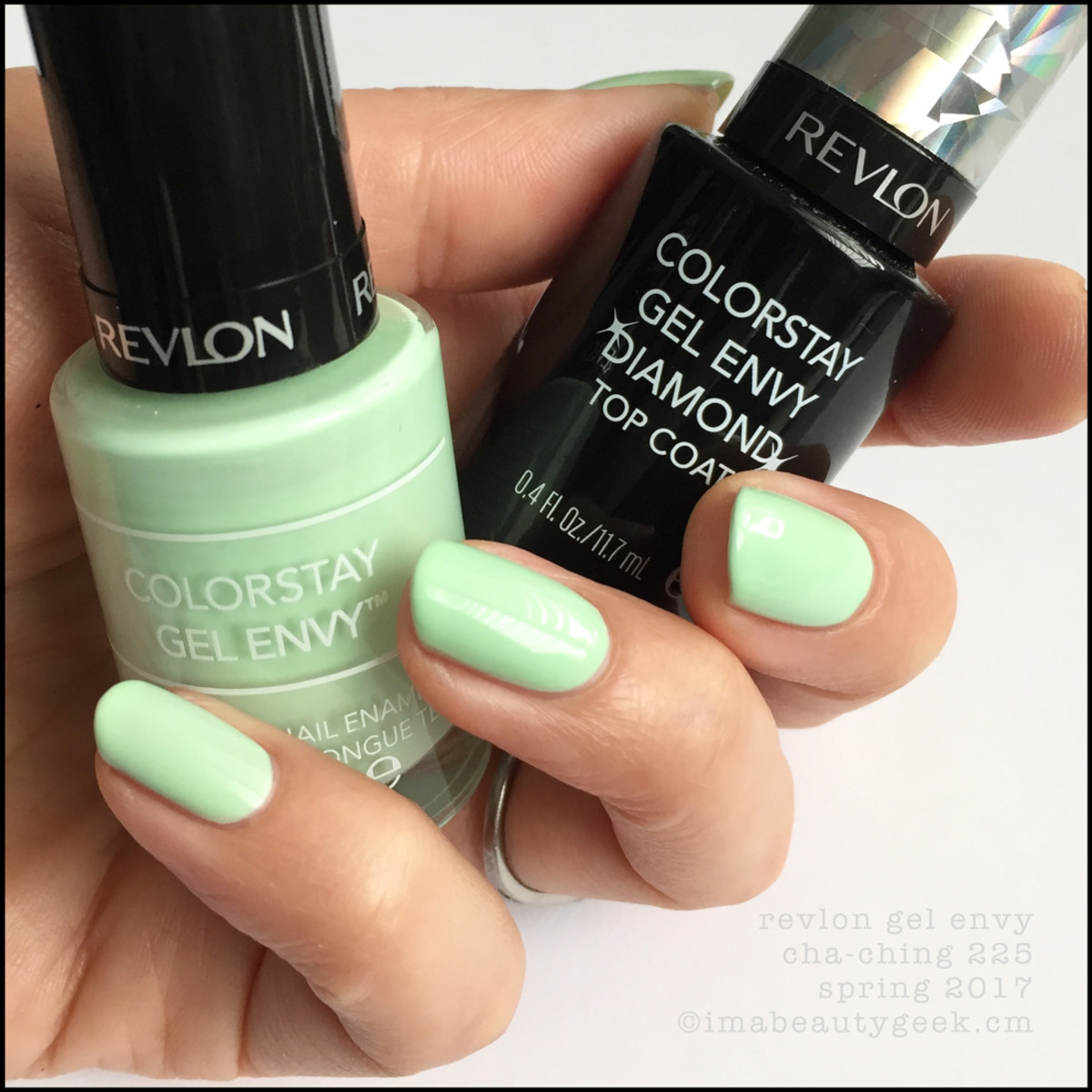 REVLON GEL ENVY SWATCHES REVIEW SPRING 2017 - Beautygeeks