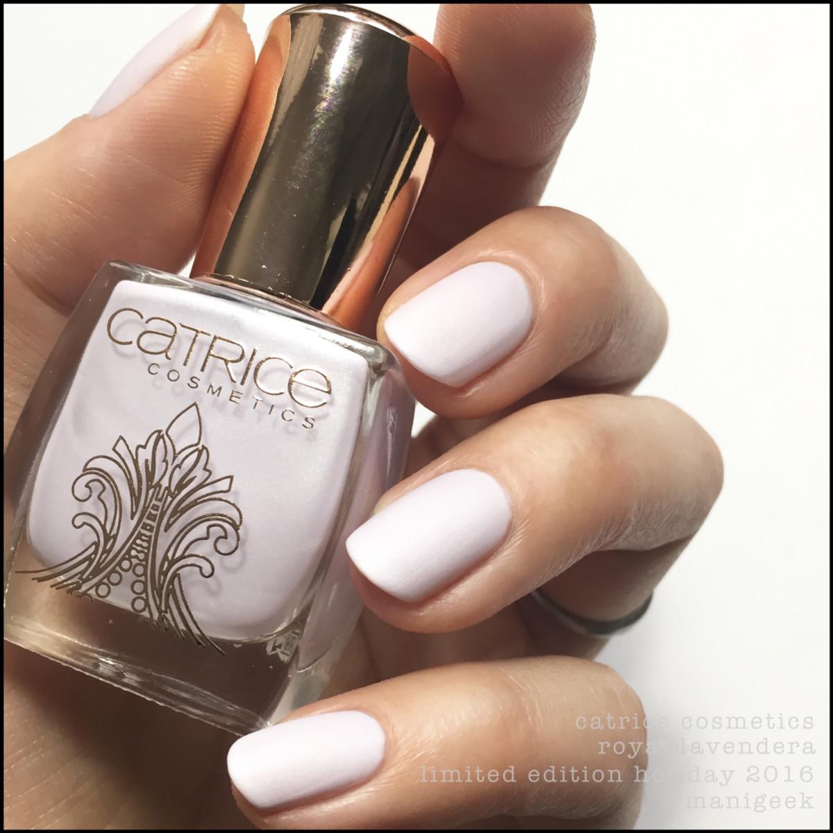Catrice Royal Lavendera Nail Polish Swatches