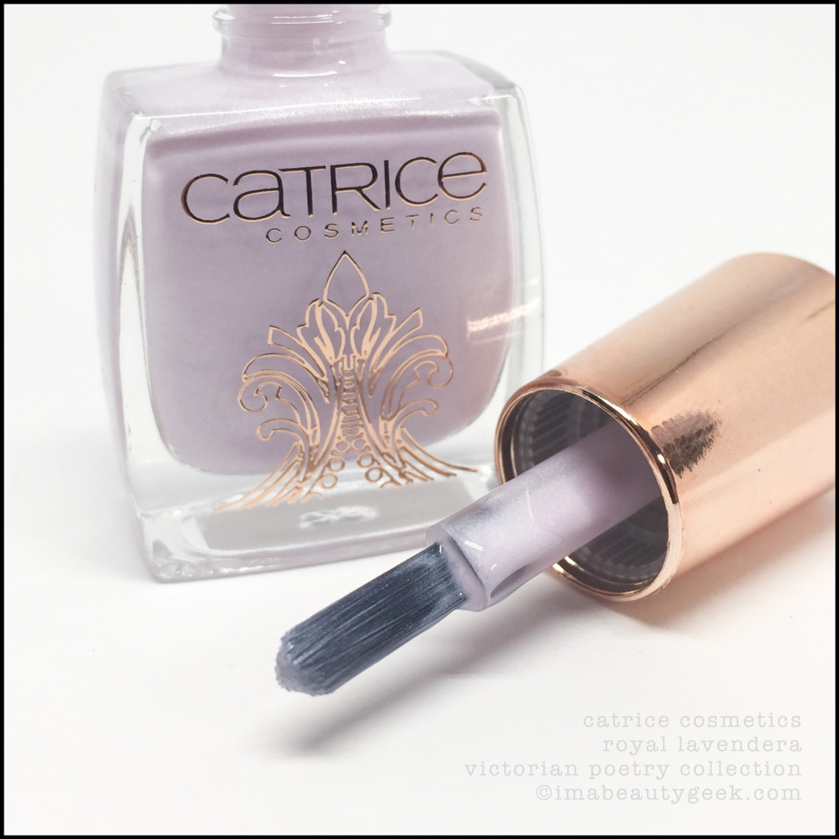 Catrice Royal Lavendera Nail Polish Brush_Victorian Poetry Collection